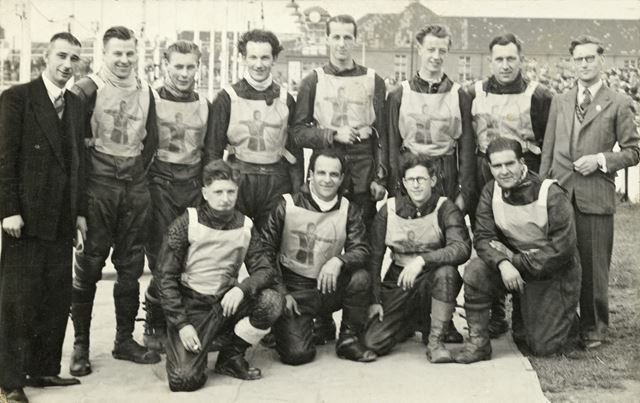 Group Photo of Archers Speedway Team, Long Eaton, c 1950s