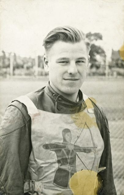 Bill Humphreys, Archers Speedway Team, Long Eaton, c 1950s