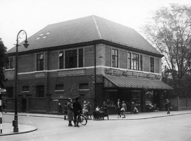 Co-operative store, Derby Road, Long Eaton, c 1935