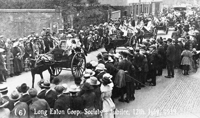 Long Eaton Co-operative Society's Jubilee, 1919