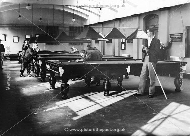 Long Eaton Co-operative Society Snooker Hall, c 1940