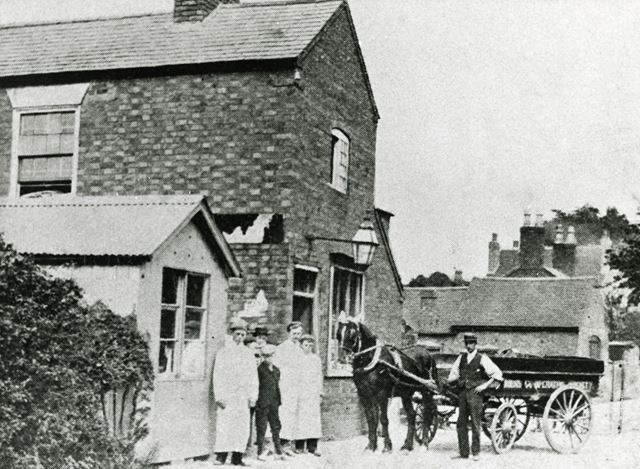 Branch 4, Long Eaton Co-Operative Society, Blind Lane, Breaston, c 1905
