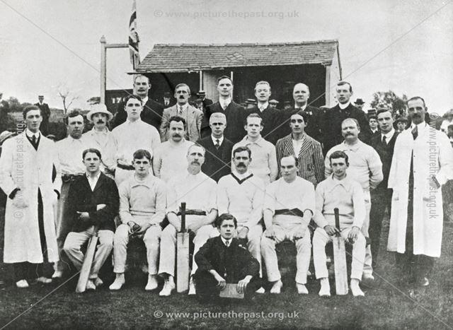 Cricket Team, Ilkeston, c 1901