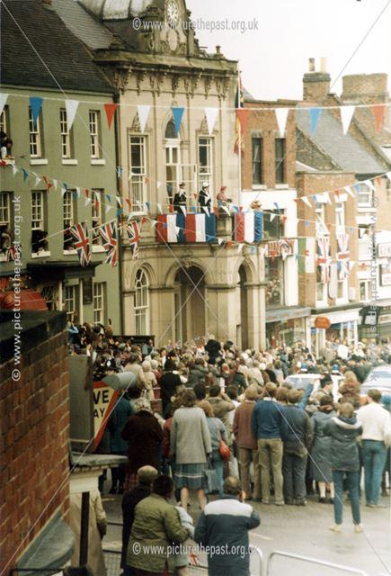 Royal Visit of Queen Elizabeth to Ashbourne, 1985