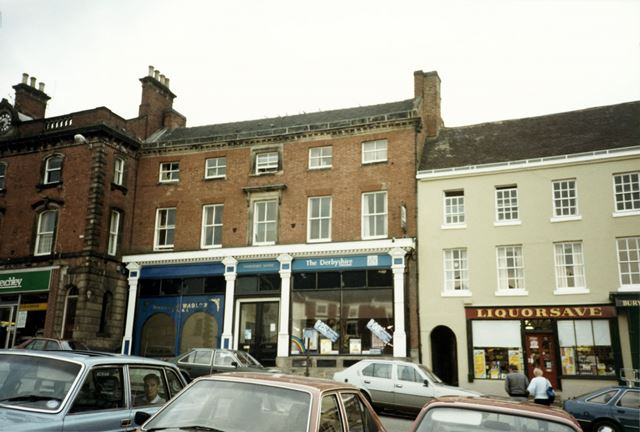 Derbyshire Building Society, Market Place, Ashbourne