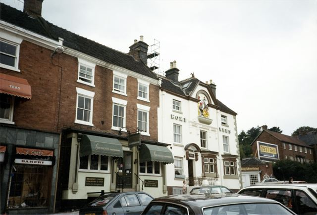 The George and Dragon Hotel, Market Place, Ashbourne