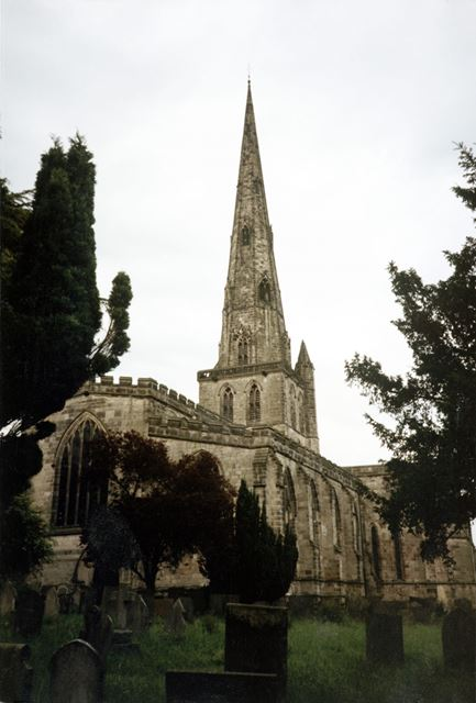 St Oswald's Church, Church Street, Ashbourne