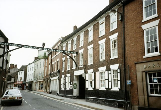 The Green Man and Black's Head Hotel, St John Street, Ashbourne