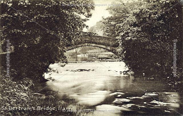 St Bertram's Bridge, Ilam