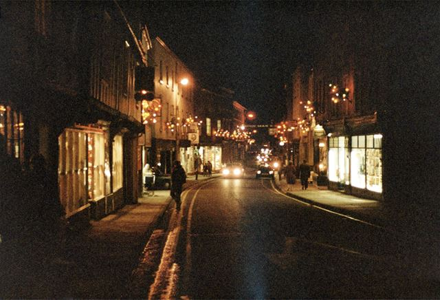 Shops on St John Street, Ashbourne
