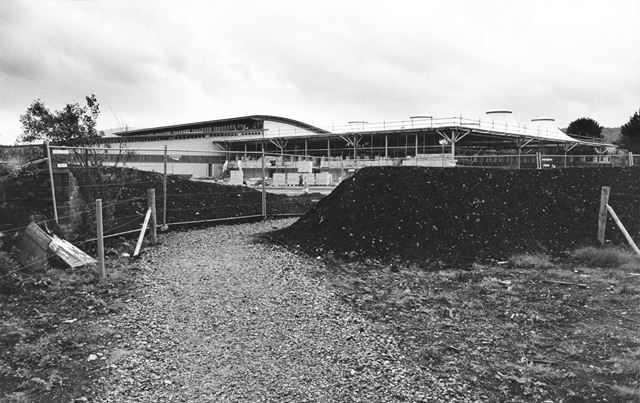 Construction of the new Agricultural Business Centre
