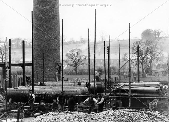 Nestle factory under construction