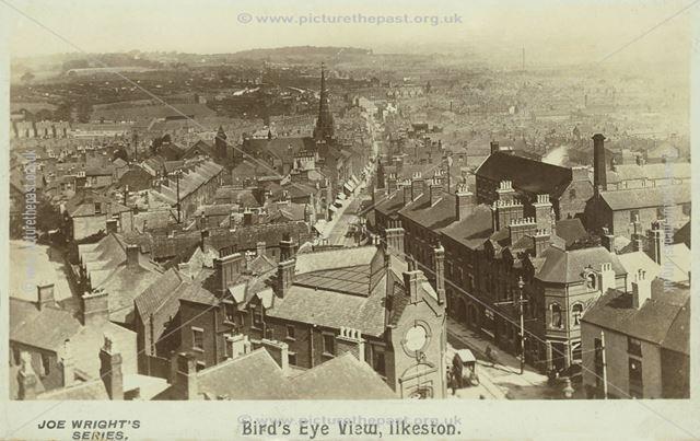 'Bird's eye view' of Bath Street, Ilkeston