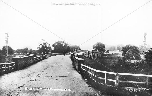 Borrowash Bridge, Elvaston Road, c 1910 ?