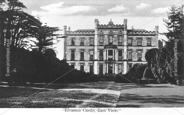 Elvaston Castle, east view