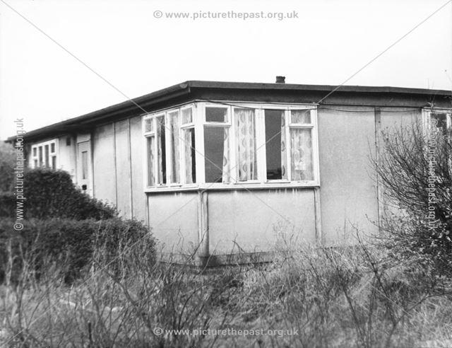 A 'Pre-fab' house, Ebenezer Street, Ilkeston
