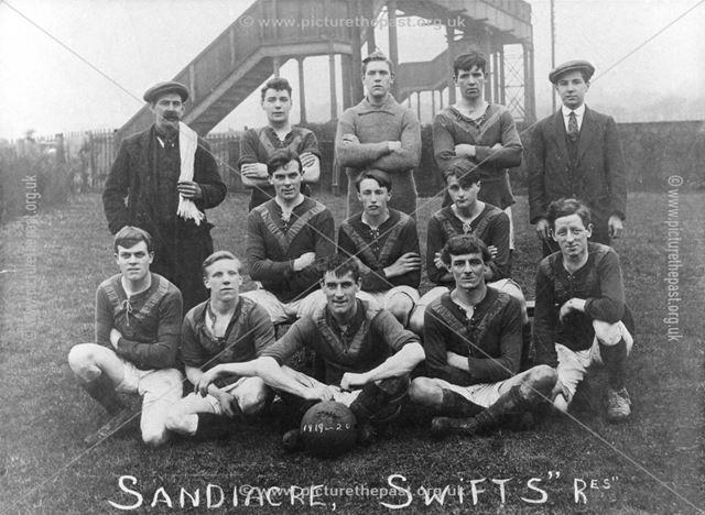 Sandiacre Swifts Football Club reserve team