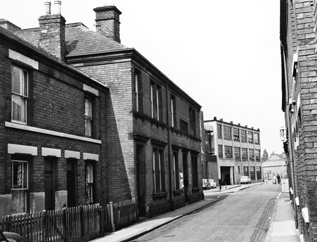 Cross Street - Old Police Station and the Jones Stroud factory