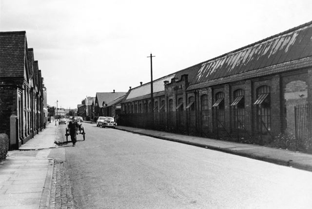 Factories on Bennett Street