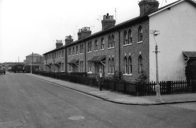 Midland Street, at the junction with Erewash Street