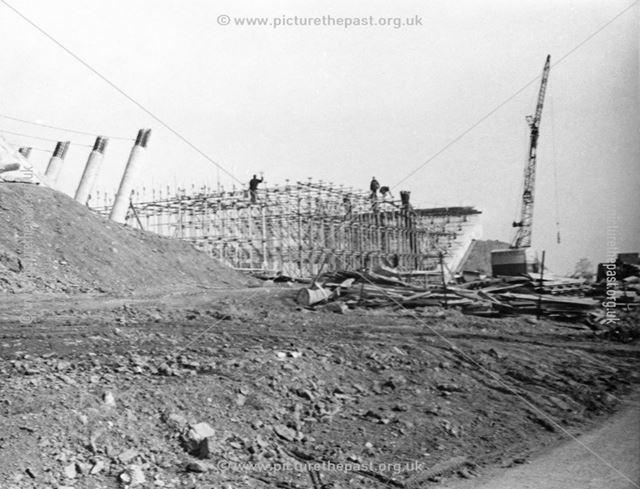 M1 Motorway bridge under construction