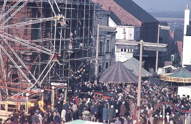 1962 Fair from the Library roof -official opening