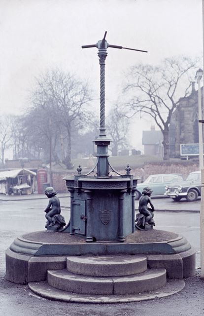 Drinking Fountain, Market Place, Ilkeston