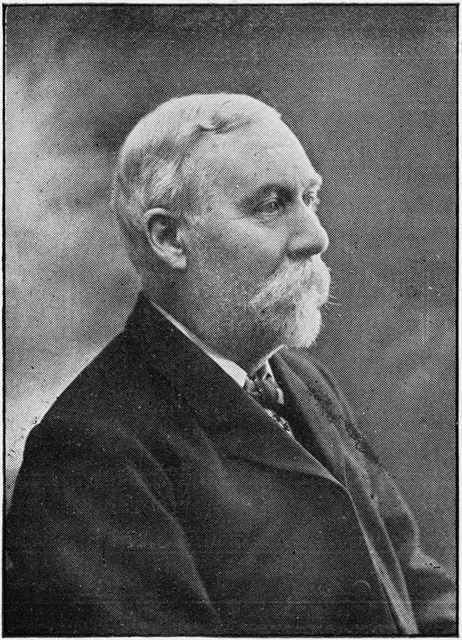 Mr Thomas Roe (1839-1918) - Superintendent of the Congregational Church, Wharncliffe Road, Ilkeston,