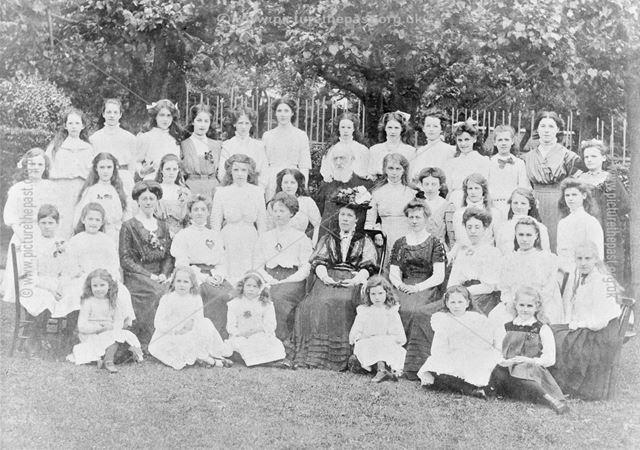 Moravian School Group, c 1910