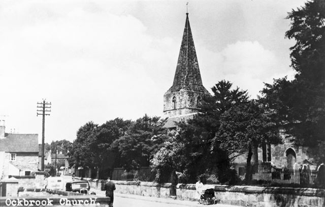 Ockbrook, All Saint's Church c 1930