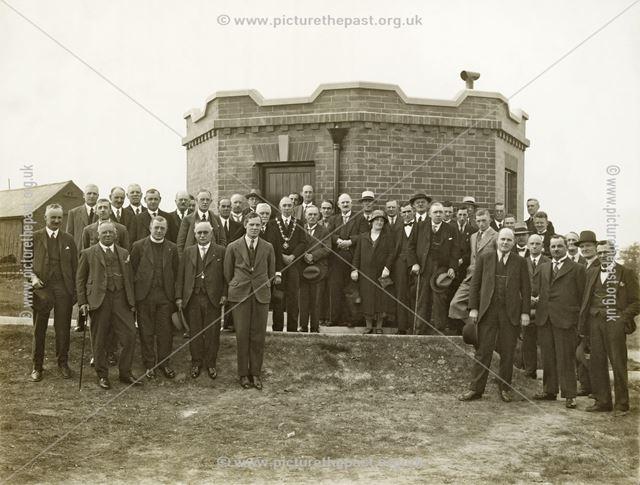 Inauguration of Marlpool Reservoir, 31 May 1933