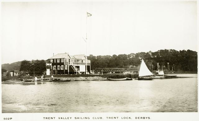 Trent Valley Sailing Club, Trent Lock, Long Eaton, c 1930