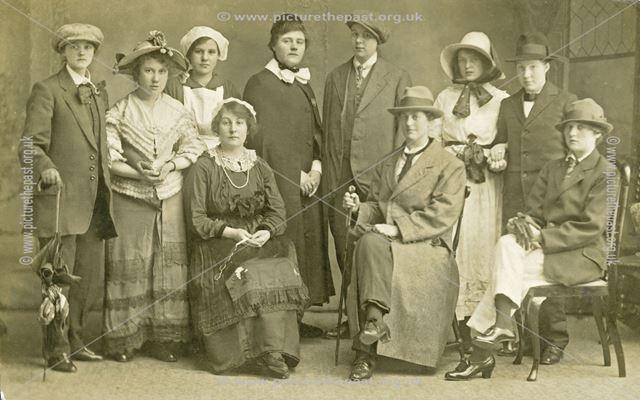 St. Johns Church Play,  Ilkeston, c 1920