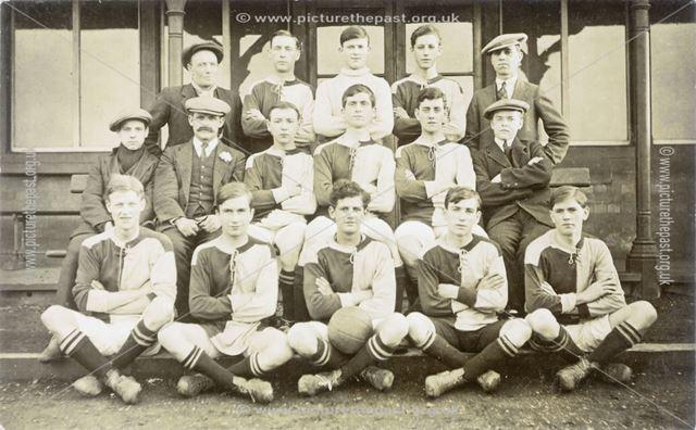 St John's Football Club, Station Road?, Long Eaton, 1917-1918