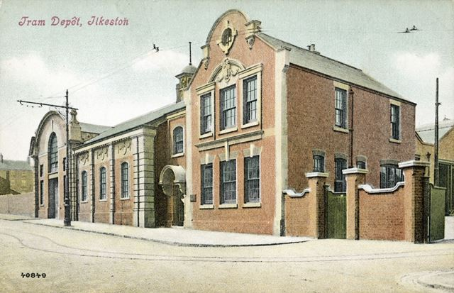 Tram Depot, Park Road, Ilkeston, c 1904-05?