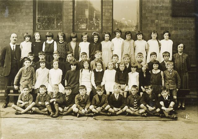 Class Photograph, National School, Claye Street, Long Eaton, 1930