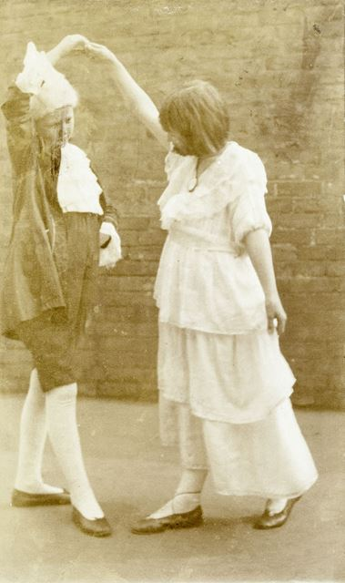 A Georgian Production, National School, Claye Street, Long Eaton, c 1920s