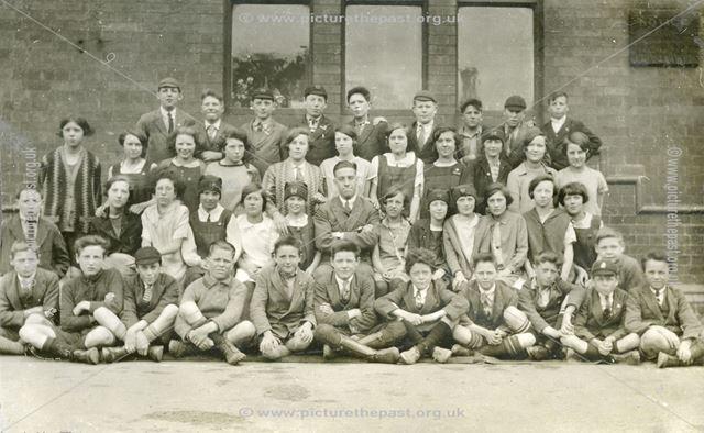 Class Photograph, National School, Claye Street, Long Eaton, 1928