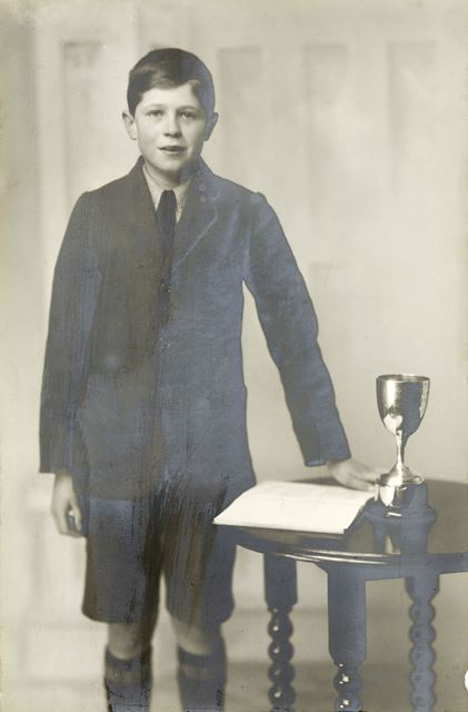Eric S. Townsend Prize Pupil, National School, Claye Street, Long Eaton, 1927