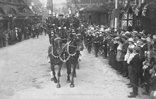 Peace Day Celebrations, Buxton, 1919