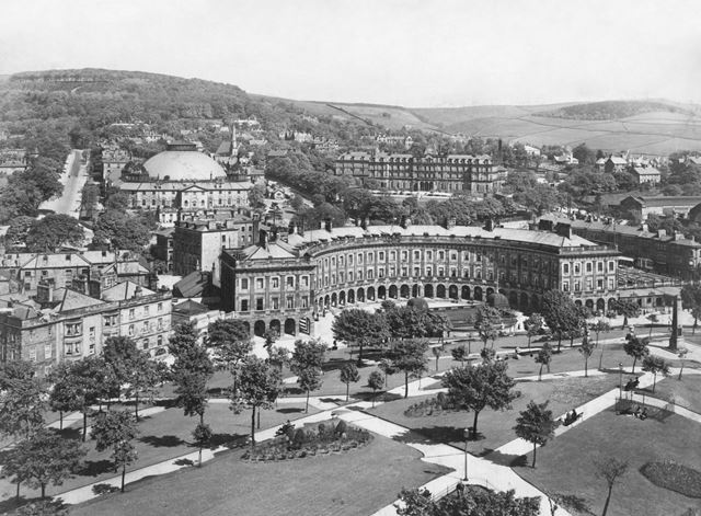 A view of Buxton, including The Crescent