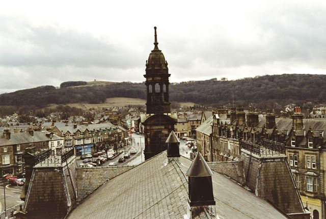 View from the roof of the Town Hall