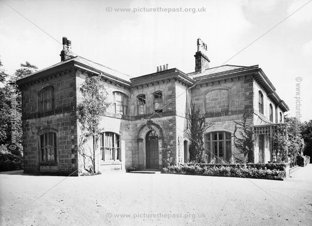 Corbar Hall, Buxton, c 1926