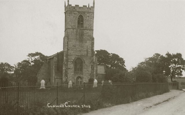 The church of St John the Baptist, Clowne