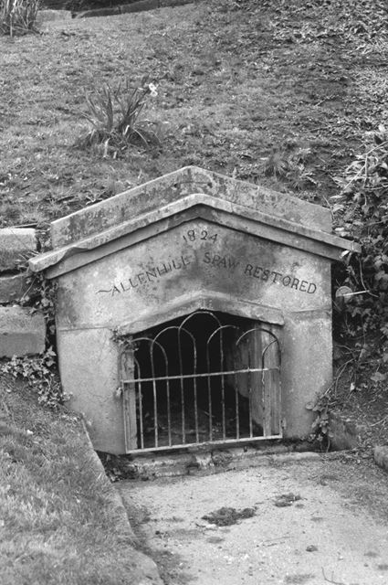 Allen Hill Spa Well entrance