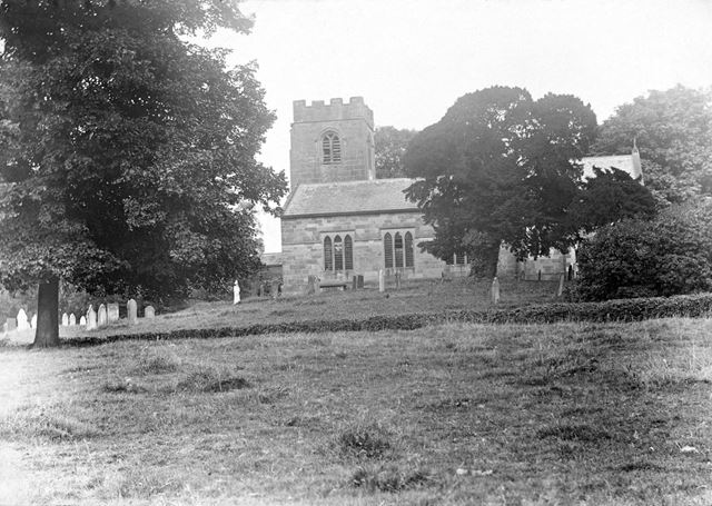St Peter's church at Snelston