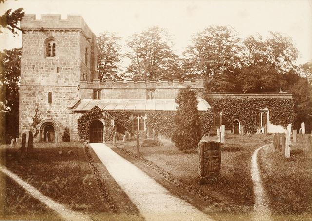 Church of All Saints at Bradbourne