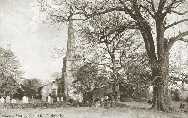 St Matthew's Church, Morley, pre-1897