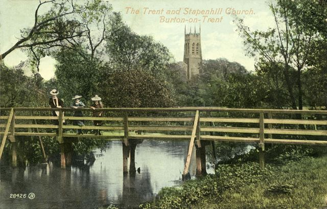 The River Trent at Stapenhill