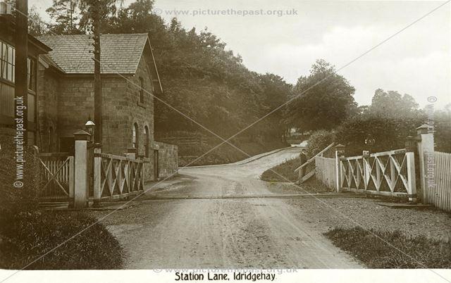 Railway Crossings on Station Lane, Idridgehay